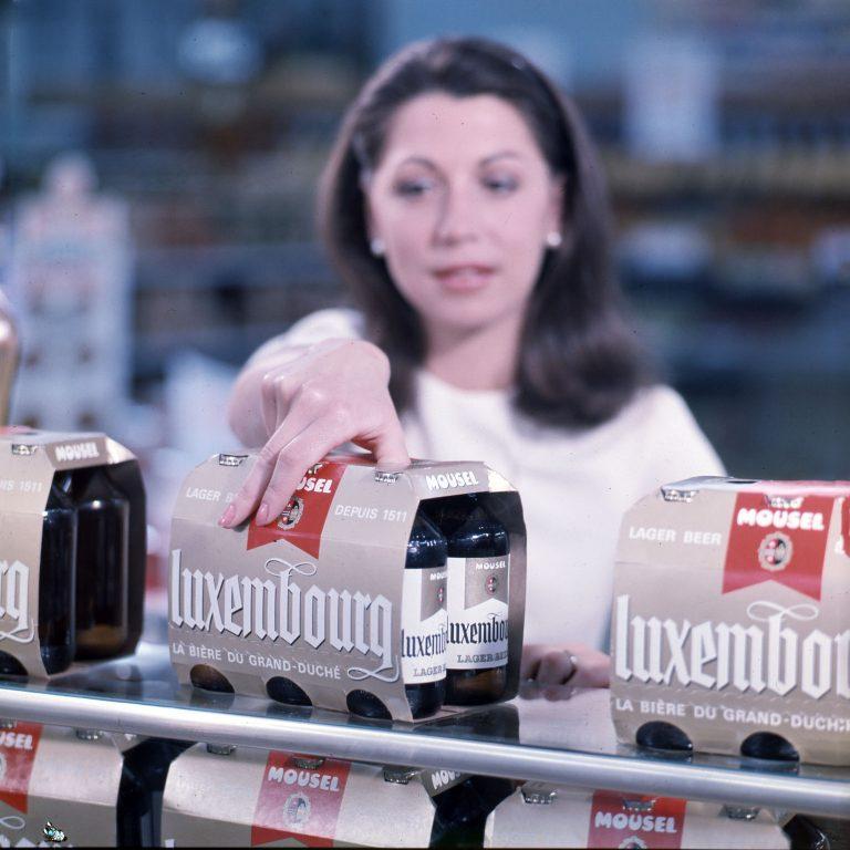 Flesjes bier voor Unilever